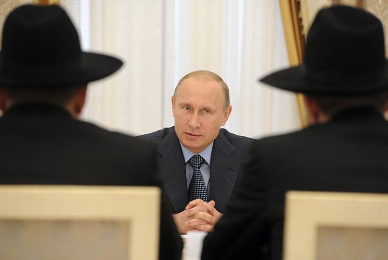 Russische-President-overlegt-met-Rabbijnen